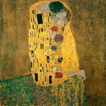 Klimt Gustav O Beijo Der Kiss 1907-08